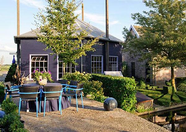 Bildhauerei bei Landhaus De Blauwe Meije